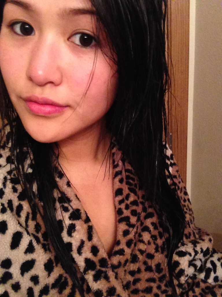 Fresh outta the shower. Zero make-up, zero filter.